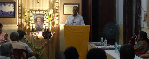 Jawhar Sircar speaks at the Museum